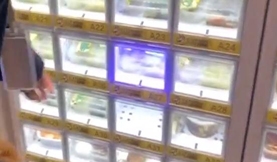高科技防控 智能取餐柜:全程无接触取餐