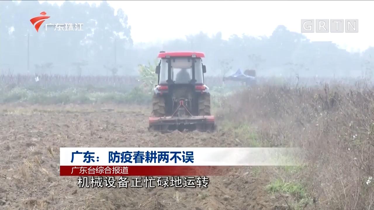 广东:防疫春耕两不误