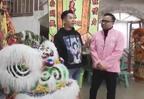 郭政鸿:不会舞狮的武师不是好演员