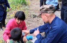 奇跡!河源9歲男童山林里走失11天后獲救