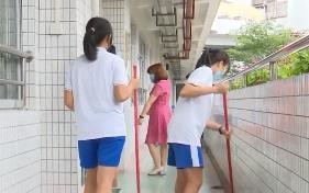 廣州 師兄師姐做足準備 迎接第二批學生返校