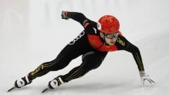 中国短道速滑名将武大靖打破自己创造的世界纪录