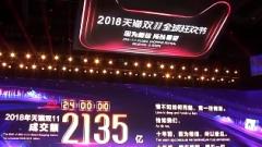 """直击""""双11"""" 双十一单日成交2135亿 广东省最能买"""