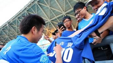 广州足球的旗帜——卢琳