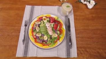 好看又好吃的牛油果鲜虾沙拉