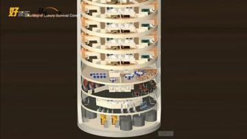 核导弹井变身生存公寓