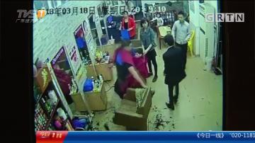 东莞:对发型不满 火爆男狂踢泄愤被拘