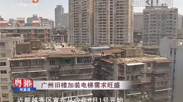 广州旧楼加装电梯需求旺盛