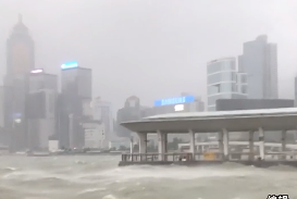 """香港特区政府宣布""""山竹""""破坏远超""""天鸽"""""""