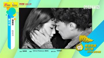 粤语歌曲排行榜2018年50期