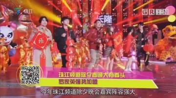 珠江频道除夕夜特别节目大有看头 罗家英强势加盟
