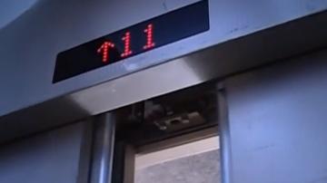 (DV现场)河源:小区电梯失控突然下坠 不少业主都中过招