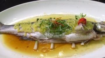 姜葱蒸和顺鱼