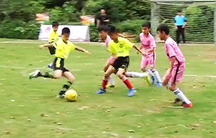U互动五人足球争霸赛清远城市赛火热启动