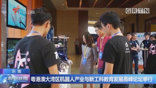 粤港澳大湾区机器人产业与新工科教育发展高峰论坛举行