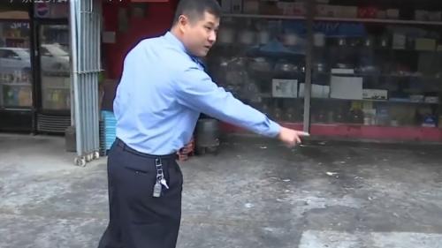 [HD][2019-11-12]今日一线:东莞厚街 民警鸣枪示警 及时控制酒后持刀男子
