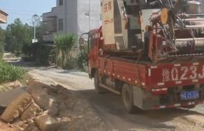 化州:多部门联合整治泥头车超载