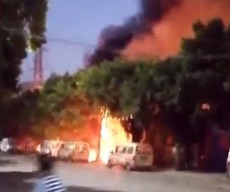 [HD][2019-11-09]今日一线:顺德勒流:厂房突发火灾 现场传岀多次爆响
