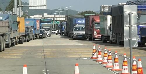 广州:高速路推广ETC 部分收费站现拥堵