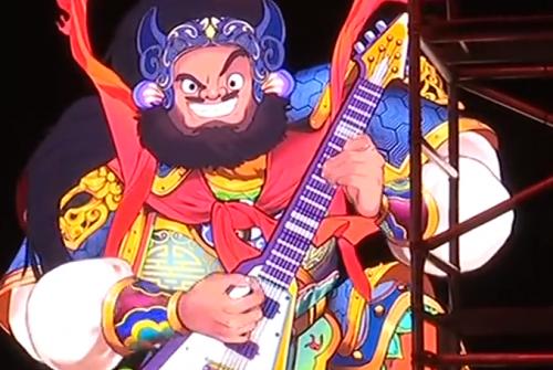 广州 灯光节亮点提前看:门神弹吉他五音沉浸式场景