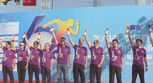 激情开跑!直击第六届广州塔登高公开赛