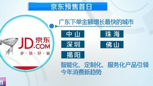 """""""双十一""""预售火爆 广东人爱买啥? 智能化产品引领广东电商消费潮流"""