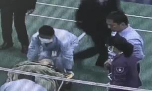 深圳:男子打球突发心梗 场馆内上演生死援救