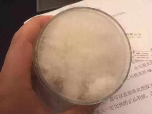 廣州消委會檢測羽絨服 千元貨竟用膠水絨