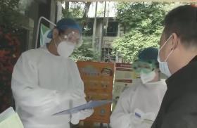 """廣州越秀:""""防疫機器人""""上崗 助力集中隔離點內服務"""