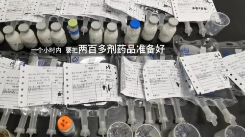 防控疫情最前线:夜探病房 记者蹲点汉口医院