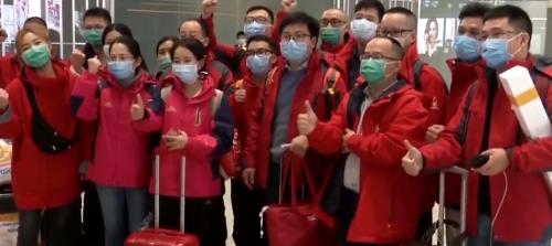 馳援!又一批廣東醫療隊飛赴湖北荊州