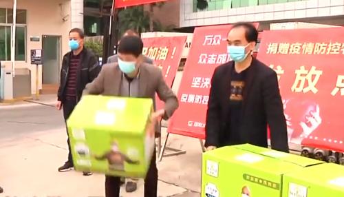 吴川:乡贤捐赠4万只口罩 助力当地企业复工复产