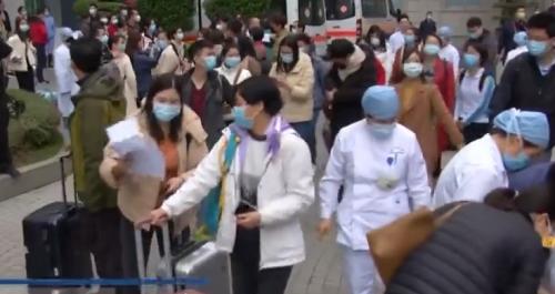 """共同""""戰疫"""":集結號再響起 新一支廣東醫療隊赴武漢"""