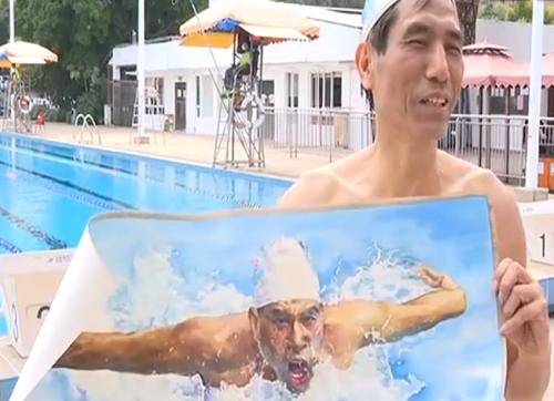 广州 荔湾区率先开放公共泳场 泳客游水庆生