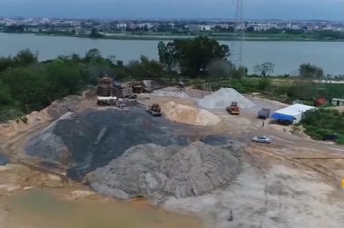 一线独家调查:湛江吴川 黑洗沙场持续扰民 投诉两年无法解决?