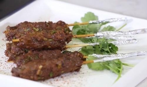 健康厨房:香草牛肉串