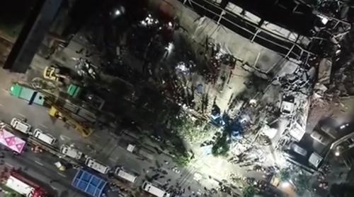 福建泉州一酒店坍塌 已致10人死亡