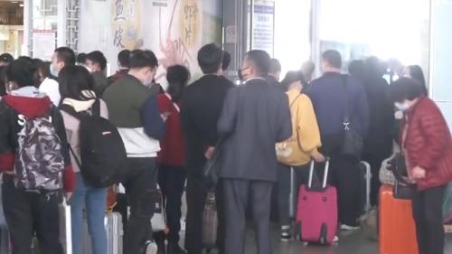 广州南站:返程客流持续 今天预计到发21万人