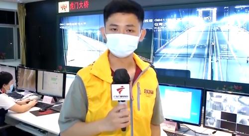 記者直擊:虎門大橋最新情況