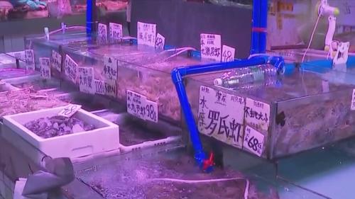 """黄沙水产市场禁用""""黑厚重""""胶袋"""