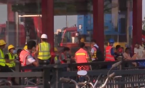 廣州地鐵13號線遭區域性水淹 搶險檢修仍在進行中