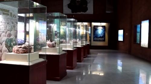 """让化石""""活""""起来——河源恐龙博物馆"""