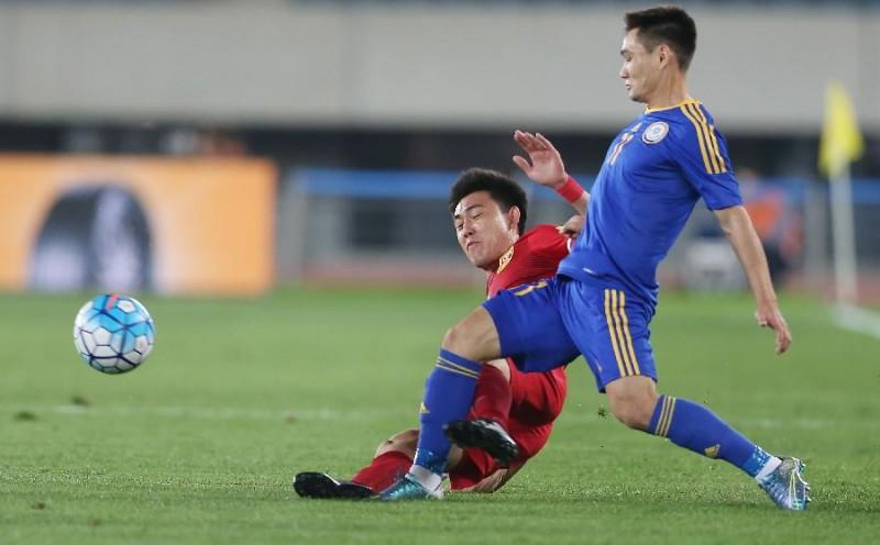 2016年中国足协中国之队国际足球赛 中国vs哈萨克斯坦