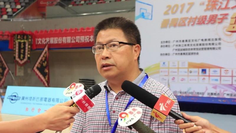 """2017""""珠江文体""""番禺区村级男子篮球赛火热进行中"""