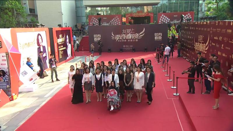 娜兰蒂姿品牌代表人小野携团队亮相