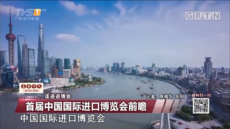 走进进博会:首届中国国际进口博览会前瞻