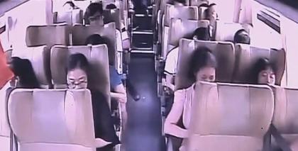 韶关南雄:手提电脑变砧板 大巴车上的调包计