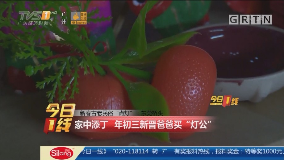 """东莞:新春古老民俗""""点灯"""" 家中添丁年初三新晋爸爸买""""灯公"""""""