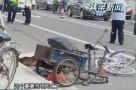 湛江:飞车砍人致车祸 警方介入调查