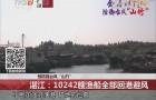 """预防强台风""""山竹"""" 湛江:10242艘渔船全部回港避风"""